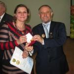 вручение медали Беспаловой Н.С.