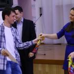 """Участник конкурса, обладатель номинации """"Воля к победе"""" Влад Немец"""